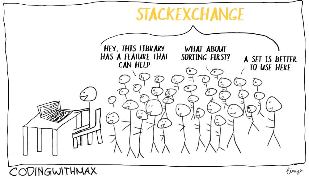 stack exchange helpful community python