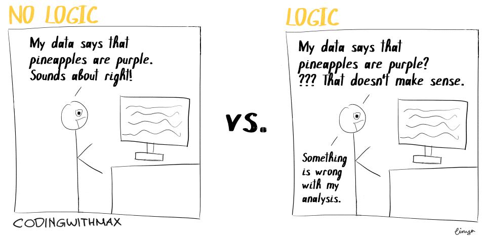 logic in data science comic