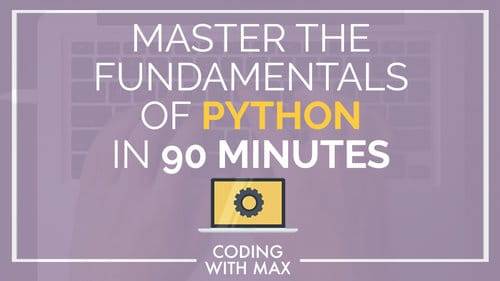 Python in 90 Minutes:  for people who want to get all the fundamentals down and start coding in Python today! You'll learn it all starting with the basics, then moving on to data structures, user interaction, and program control flow. (#fancyterms)