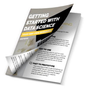 If you want to start your own project, but aren't quite sure how to go about it, you can join my mailing list!   When you join my list, you'll get the password to my  Free Resource Library  where you can grab my DATA SCIENCE WORKBOOK to help you get started with your own project!