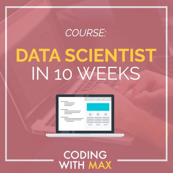 Learn Data Science In 10 Weeks Title
