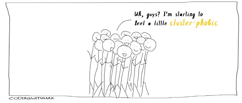 cluster phobic comic