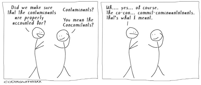 Concomitants comic joke
