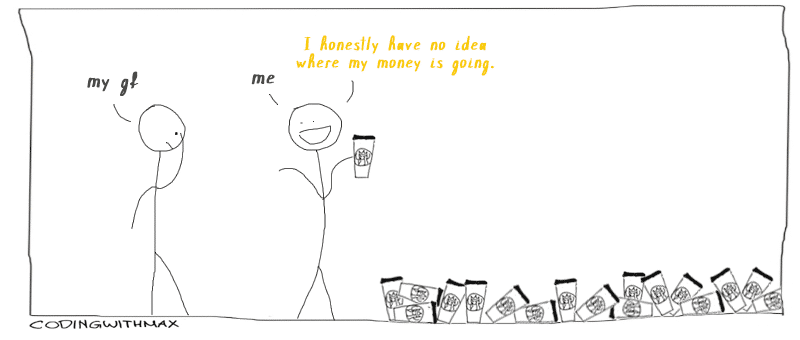 money budget comic