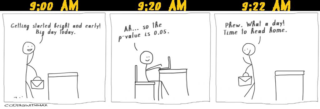 p value comic joke