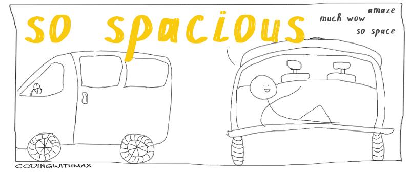 spacious comic